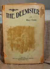 THE DEEMSTER by Hall Caine Rare antique old paperback Lupton Aldis series no. 5
