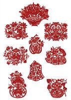 "ABCDesigns 9 Dantela FSL Lace Blocks Standalone Embroidery Designs Set 5/""x7/"" Hoo"