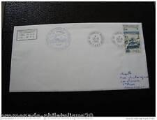 TAAF carta 20/8/85 - sello - yvert y tellier nº112 (cy4)