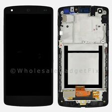Black Google Nexus 5 LG D820 D821 LCD Display Touch Digitizer Screen Matte Frame