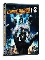 Zombie Diaries 1 & 2 -DVD Movie- Brand New - Fast Ship! (VG-210688DV / VG-028)