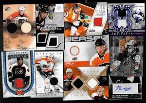 PHILADELPHIA FLYERS AUTOGRAPH JERSEY NHL HOCKEY CARD SEE LIST