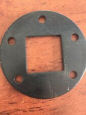 """Round 5 Hole Electric brake flange to suit 50mm square axle n 12"""" Backing Plate"""
