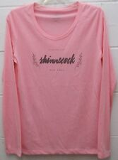 Shinnecock Hills Golf Country Club Women's Tee Shirt Top Light Pink Medium New