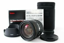 Sigma EX 24-70mm f/2.8 IF HSM DG Lens For Minolta/Sony
