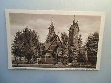 Ansichtskarte Die Kirche Wang Riesengebirge 30/40?? mit Personen