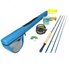 Redington Crosswater 690-4 Fly Rod Outfit : 6wt 9'0""