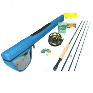 """Redington Crosswater 490-4 Fly Rod Outfit : 4wt 9'0"""""""