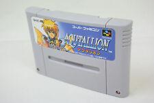 Super Famicom AQUTALLION Secret of the Stars Video Game Cartridge Only sfc