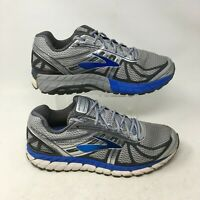 Brooks Beast 16 Sneakers Running Shoes Low Top Lace Up Mesh Grey Blue Mens 11