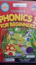 Phonics 1 for Beginners Ages 4-7 PC GAME - FREE POST *