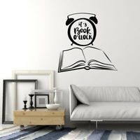 Vinyl Wall Decal Books Quote Library Shop Reading Corner Stickers Mural (ig5151)