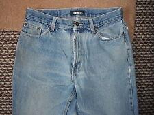 "Denim Co Classic Fit Jeans Waist 30"" Leg 30"" Faded Medium Blue Mens Jeans"
