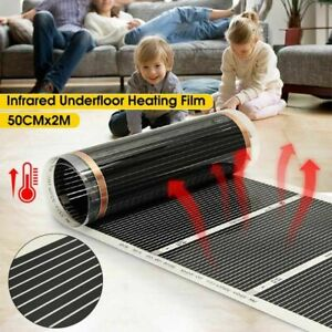 Floor Heating Infrared Carbon Film Systems 220V 50cm Width System Parts