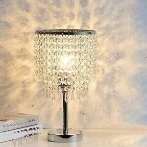 Modern LED Crystal Table Lights Bedroom Light Bedside Lamp Table Lamp Decor
