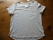 Cotton Blend Short Sleeve Other Tops & Shirts NEXT for Women