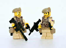Aussie SAS Special Forces Team 2 Minifigures made with real LEGO® minifig parts