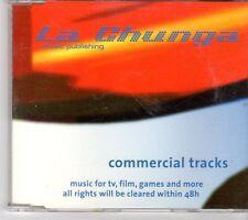(EX929) La Chunga, Commercial Tracks, 36 tracks - DJ CD