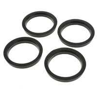 4x 73.1- 60.1mm Plastic Wheel Spigot Reducer Rings Hub Centric Spacer