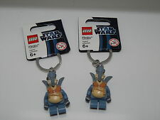 Lego Minifigure Lot Of 2 Star Wars Watto Key Chain
