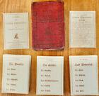 Seldom Seen Antique 1886 GAME FOR GERMAN CONVERSATION - HENRY HOLT & CO Complete