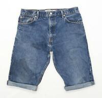Levis Mens Blue Denim Shorts Size W34/L12