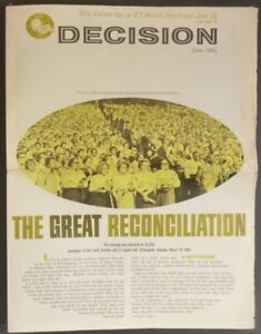 Decision: Billy Graham at 1964 New York World's Fair Newspaper Religion