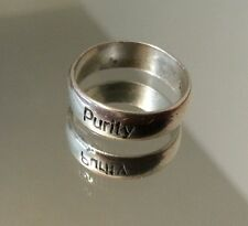 sz 5¾ Bob Siemon Designs Vintage Sterling Silver Purity Band Ring
