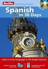 Berlitz Language: Spanish In 30 Days (Berlitz in 30 Days), Berlitz, Very Good, A