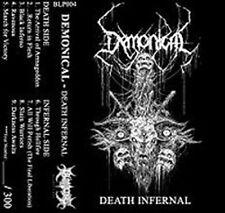 DEMONICAL - Death Infernal - Kassette Audio Cassette Tape MC - Neu