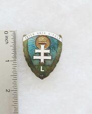 Hungarian Levente Cap Badge