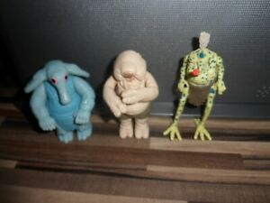 Vintage Star Wars Snootles and the Max Rebo Band Action Figures / Kenner VGC
