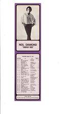 Rare / Vintage - Neil Diamond Photo 1970 Khj Boss 30 (L.A.) Radio Survey Excnt