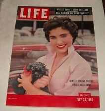 7/25 1955 LIFE MAGAZINE CATHY CROSBY BILL MAULDIN on DO it YOURSELF GADGET SHOW
