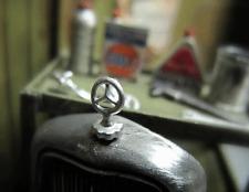 Mercedes Daimler DB Kühlerlogo Stern für Umbau Tuning Zubehör f Modellauto 1/18