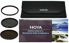 Hoya 72mm Digital Filter Kit II 11 2 Hoya 72mm UV (C), Circular PL, ND8 ND New