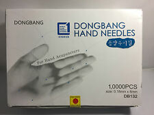 NEW 0.18mm x 8mm 1,000 Needles Korean SooJi-Chim Disposable Hand Acupuncture