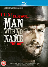 The Man With No Name Trilogy (Blu-ray) Clint Eastwood, Gian Maria Volonte