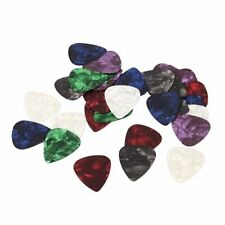 10pcs Stylish Colorful Celluloid Guitar Picks Plectrums 0.71mm HY