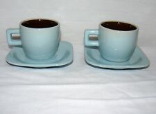 NO NAME BRAND PAIR SET OF 2 MATCHING MINI CUP & SAUCER TINY MUG & PLATE TEA SET