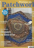 PATCHWORK N°04 PATCH MANDALA / LE QUEBEC A L'HONNEUR / TWISTEZ VOS BANDES