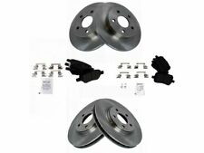 For 2004-2012 Chevrolet Malibu Brake Pad and Rotor Kit Front and Rear 24574FT