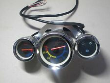 Mini chopper Speedometer 3-Gauge B 60 Mph, 6 Wires