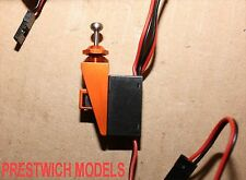 WATERPROOF SWITCH MOUNT aluminium rc model boat gas nitro radio