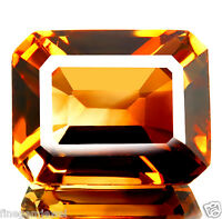 33.55ct WOW MASSIVE FLAWLESS NATURAL 5A+IMPERIAL CHAMPAGNE TOPAZ EARTH MINED-IF!