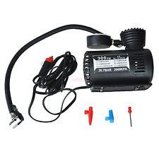 12V Universal Car Electric Inflatable Pump Portable Air Pump Compressor 300PSI