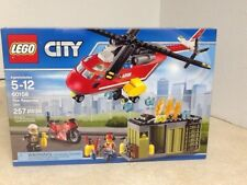 Lego City Fire Responce Unit 60108 With 3 Minifigs