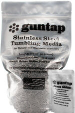 """9 Pounds Stainless Steel Tumbling Media Pins 9lb .047"""" x .255"""" Made in USA"""