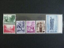 timbres belges : culturelle 1954 COB n° 946 à 951 **