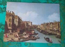 Painting No. 24 The Grand Canal Near the Rialto Bridge, Venice by Canaletto